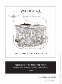 Click to enlarge image poggio-al-granchio-valdisuga-brunello-label.jpg